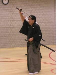 Training for Saya no Naka No Kachi by Masayuki Shimabukuro, Hanshi