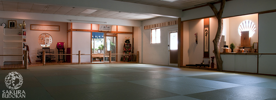 Our Dojo Training Area